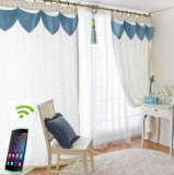 À télécommande automatiquement motorisé ouvert de contrôleur de rideau en plat électrique