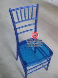 Venda quente usada arrendamento da cadeira de Chiavari da resina da cadeira