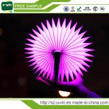 La lámpara teledirigida colorida al por mayor de la dimensión de una variable del libro de la luz del libro de la fábrica para adorna