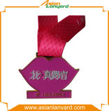 Qualität kundenspezifisches Metallmedaille überzogenes Gold
