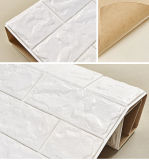 El panel de pared auto-adhesivo material del papel pintado 3D de la decoración de interior