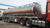 Aluminum Alloy Fuel Tank Trailer 50000 Liters Stainless Steel Tank Trailer