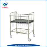 Berceau de bébé de bâti d'acier inoxydable avec le bassin d'ABS