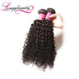 Волосы длительный длинней дешевой Unprocessed девственницы малайзийские курчавые