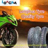 6pr altos neumático y tubo de goma (3.00-18) de la motocicleta del por ciento