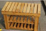 Cremalheira de madeira contínua da sapata (M-X3057)