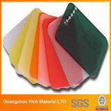 Подкрашиванный лист перспекса листа PMMA цвета 1-30mm пластичный акриловый/лист плексигласа