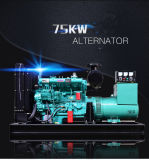 최신 판매 좋은 가격에 저잡음 침묵하는 디젤 엔진 발전기 세트 75kw/93kVA