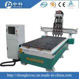 Máquina de talla neumática de 1325 del CNC pistas de madera del ranurador 4
