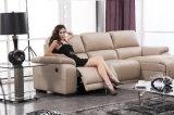 Modelo casero 917 del sofá del cuero del Recliner de los muebles
