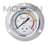 Glicerina Silicon Liquid Oil - Bourdon riempito Tube Pressure Gauge