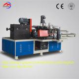 Núcleo de papel inteiramente automático elevado do cone da configuração que dá forma à máquina para a matéria têxtil