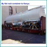 3 Radachsen-Kraftstofftank-Schlussteil, 40000 des Kraftstofftank-halb Liter Schlussteil-, China bildete Kraftstoff-Tanker
