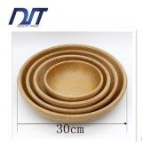 Cassetto di legno naturale solido personalizzato del servizio dell'alimento di formato