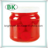 Exportação da cereja enlatada no exterior