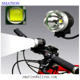 Luz de la bici de montaña de ciclo recargable de la linterna del CREE de la lámpara de la bicicleta LED