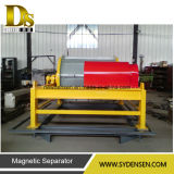 Separatore magnetico su efficiente asciutto del rullo della polvere di buona prestazione