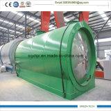 使用された船オイル浄化の精製所プラント10tpd連続的なプラント