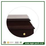 Caixa de armazenamento de madeira decorativa luxuosa da jóia