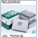Contenitore stabilito impaccante di legno di carta di vetro del regalo del documento del contenitore di cuoio del contenitore di imballaggio del contenitore di monili del contenitore di casella di memoria dei monili del contenitore di monili del regalo (Lrj78)
