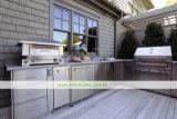 Cozinha ao ar livre do aço 304 inoxidável com BBQ (WH-D401)