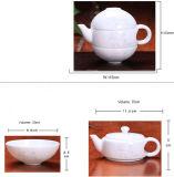 La tazza di tè di Kungfu della porcellana di Cowry delle coperture ha impostato per il grossista