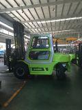 Contre- diesel équilibré de chariot élévateur 5 tonnes avec la cabine