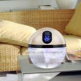 Purificador ionizante del aire con agua para la alergia
