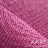 Upholstery를 위한 Knitted Backing를 가진 합성 옥스포드 Linen Fabric