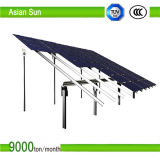 Sistema à terra do painel solar da montagem para a energia solar de eficiência elevada