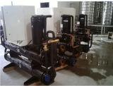 水源のヒートポンプの給湯装置