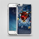 Caixa transparente a mais nova do telefone da gravidade de 2016 PC+TPU a anti para tampa da caixa do telefone da gravidade de Samsung do iPhone a anti