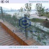 vidrio Tempered gris de 6m m para la cerca