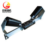 Rouleau de convoyeur à bande de largeur de courroie de SPD 600mm, jeu de rouleau de cuvette, rouleau en acier