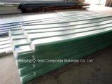 El material para techos acanalado del color de la fibra de vidrio del panel de FRP/del vidrio de fibra artesona W172055