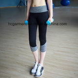 Pantalon de yoga de femme, usure de sports, guêtres de gymnastique