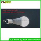 E27 9W LED 램프의 비상사태 LED 전구
