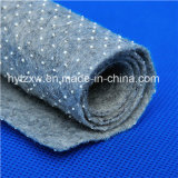 Anti-Slip PVC DOT Coated Nonwoven Felt Fabric Backing Cloth