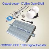 GSM900 &Dcs 이동할 수 있는 신호 중계기 1800MHz Dcs GSM 주파수 승압기 또는 중계기