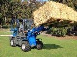 Hzm908 Jn908 판매를 위한 소형 바퀴 로더 소형 목제 기계