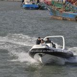 Surtidores inflables de China del barco del OEM de Liya los 7.5m del barco de forma de V de la costilla