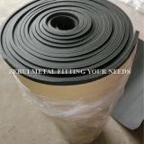 Feuille adhésive d'isolation de caoutchouc mousse pour la réfrigération