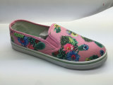 Stampa del fiore bella e pattini di Confortable per le donne (6102)