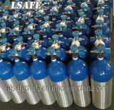 Formati medici di alluminio dei cilindri di ossigeno di pubblicazioni periodiche