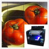 Impresora ULTRAVIOLETA personalizada de la baldosa cerámica de la talla del diseño A3