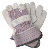 Кожаный полные продукты безопасности перчаток работы ладони