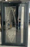 Porte populaire d'acier inoxydable de l'Asie avec la garniture glaçante dans SUS304 (ES-7001)