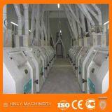 Máquinas de pulir de la comida del maíz/fresadora del maíz para Tanzania