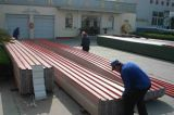Hoja acanalada anticorrosión usada fábrica química del material para techos de UPVC