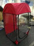 Sauter grandissent la tente avec le premier chapeau amovible